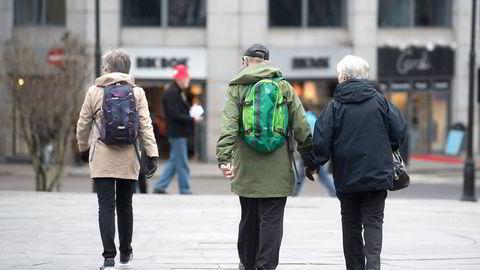 Må jobbe lenger for samme pensjon. Foto: Per Ståle Bugjerde