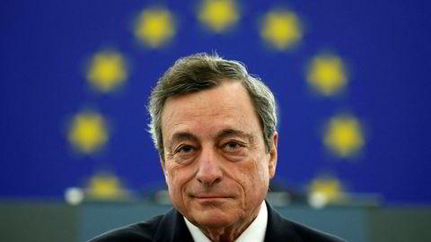 ECB-sentralbanksjef Mario Draghi.