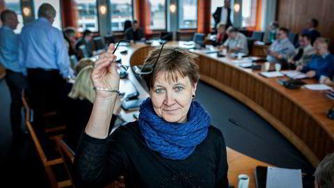 Leder for fagforbundet i LO, Mette Nord, maner til rødgrønn samling.