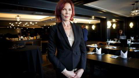 Administrerende direktør Cecilie Grue i gruveselskapet Element. Element-aksjen er mer enn halvert etter at selskapet inngikk en avtale om et såkalt dødsspirallån med Alpha Blue Ocean.