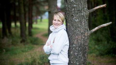 Katharina Andresen er igjen Norges rikeste. Her er hun i Oslo i 2014.
