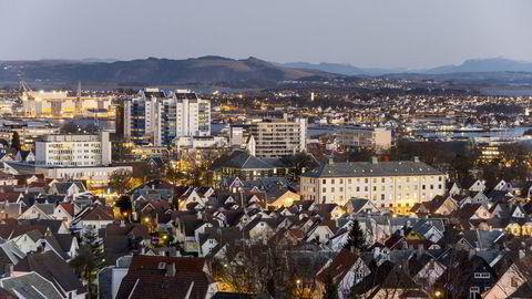 Oljebyen Stavanger har vært gjennom tøffe tider etter oljeprisfallet i 2014. Foto: Istock