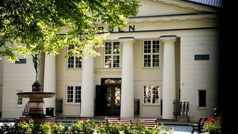 Hovedindeksen på Oslo Børs endte opp 0,74 prosent fredag. Foto: Mikaela Berg
