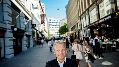 Anders Skar i Nordnet. Nordnet har kjøpt en robot som over tid skal kunne gi råd til aksjekjøpere.