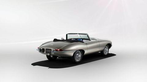 Nå kan du få bygget om din klassiske E-Type til elbil, om du skulle ønske.