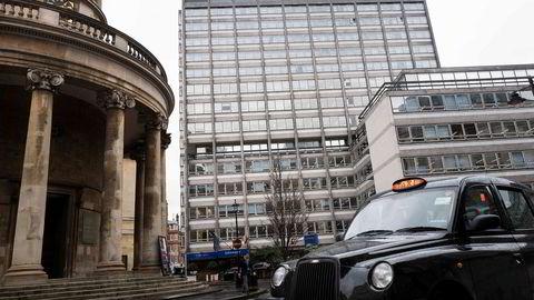 Schibsted Products & Technology holdt til i Henry Wood House sentralt i London. Nå har London-kontoret flyttet til Oxford Street.