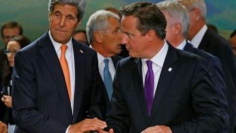 NY KOALISJON. John Kerry har spurt ni land, deriblandt Storbritannia om å bli med i en koalisjon mot IS. Foto: Yves Herman, Reuters, NTB Scanpix.