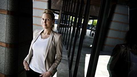 HISTORISK SVAK. - Det er mye som tyder på en fortsatt kronestyrkelse, sier sjefstrateg Erica Blomgren i SEB. Foto: Fartein Rudjord