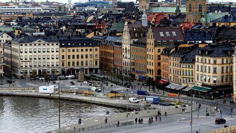 Stockholm er nummer to på UBS sin liste over finanssentre med boligpriser på boblenivå. Bildet viser Gamla Stan.