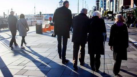 Hver nordmann, sin pensjonskonto, mener Parat og Storebrand. Foto: