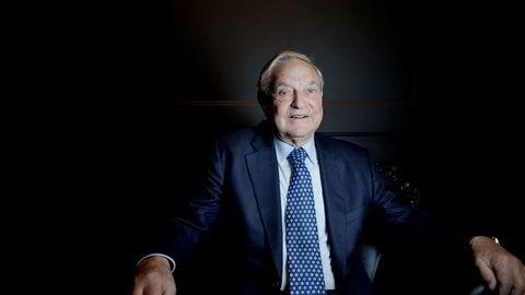 George Soros, amerikansk finansmann og filantrop.