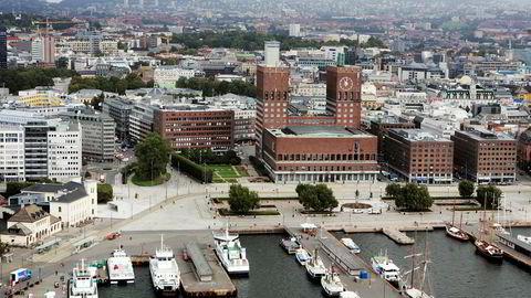 Oslo kommune må låne for å betale tilbake formuesskatt.