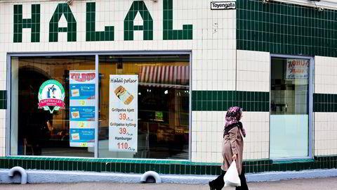 12 av 40 virksomheter som solgte hala-mat gjorde feil. Foto: Javad M.Parsa