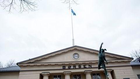 Oslo Børs. Foto: