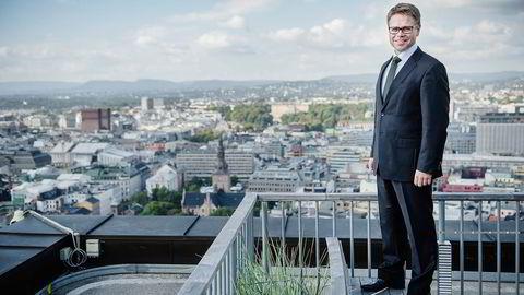 Entras konsernsjef, Arve Regland, økte sin beholdning av Entra-aksjer med over 50 prosent da han kjøpte 5000 aksjer. Foto: Hampus Lundgren