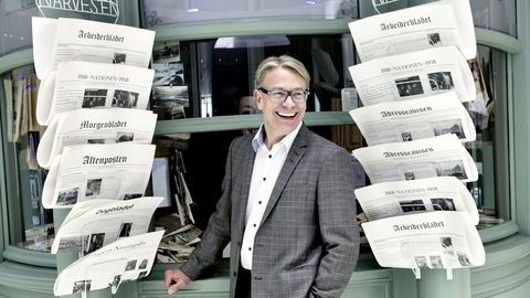 Johannes Sangnes tar over toppjobben i Reitan Convenience. Foto: Elin Høyland