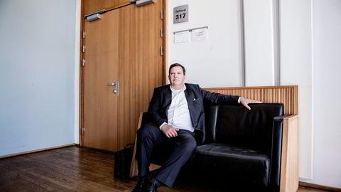 Intex' styreleder Jan A. Vestrum er dømt til fire års fengsel. Her fra starten av den fem uker lange saken i Oslo tingrett. Foto: Mikaela Berg