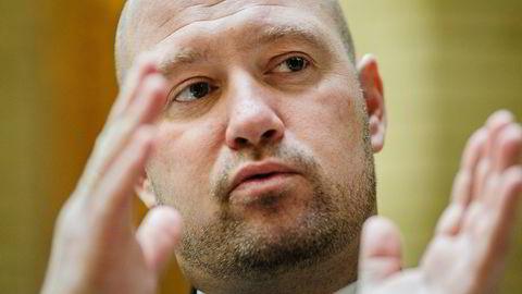 Politidirektøren råder justisminister Anders Anundsen til å stanse politiets datasatsing. Foto: Per Thrana