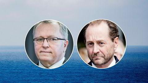 Eldar Sætres Statoil og Kjell Inge Røkkes Aker BP klarer ikke å bli enige. Foto: NTB Scanpix og DN
