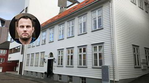 Ingen åpnet da DN ringte på døren til Torjussens holdingselskap i Nordbøgata 10 i Stavanger.