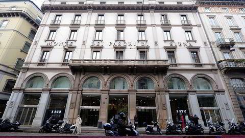 Banca Monte dei Paschi di Siena ble grunnlagt i 1472 og sliter nå med å håndtere dårlige lån - noe stresstesten som ble offentliggjort fredag bærer preg av