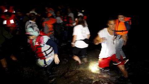 Nordmenn har gitt 100 millioner for å avhjelpe den akutte flyktningsituasjonen. Foto: