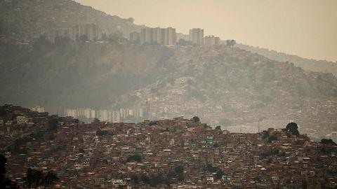 Fra hovedstaden Caracas i Venezuela.