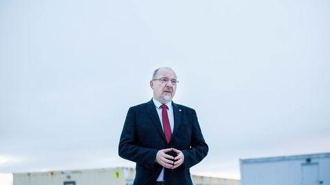 Ordfører Rune Rafaelsen i Kirkenes vil gjøre Sør-Varanger kommune til omstillingssted. Foto: Adrian Nielsen
