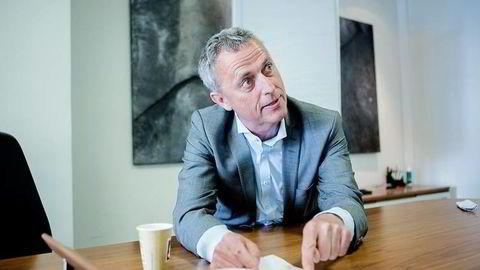 Konsernsjef Are Stokstad i Amedia tror brukerbetaling skal sikre journalistikkens fremtid. Foto: Fredrik Bjerknes