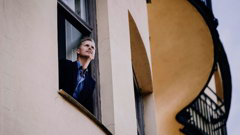 – Det er Klondyke-stemning, sier Anders Hamnes i Onflow om livet som gründer i Stockholm. Foto: Erik Simander/