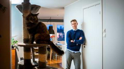 Rune Tungen og samboeren leier ut deler av leiligheten sin via Airbnb i helger og ferier.
