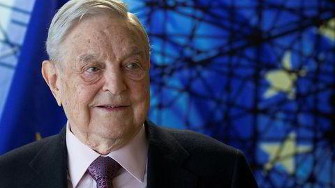Investorlegenden George Soros overfører 18 milliarder dollar til sine filantropiske stiftelser Open Society Foundations.
