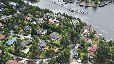 Her fra Langodden i Bærum kommune (2008).