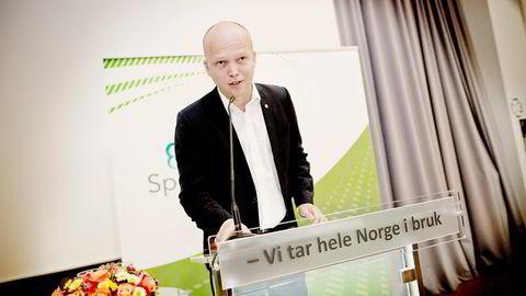 Leder for Senterpartiet Trygve Slagsvold Vedum. Foto: Ida von Hanno Bast