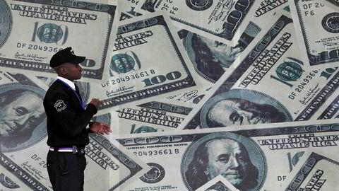 Den amerikanske statsgjelden har økt rundt 2.000 milliarder dollar under president Donald Trump.