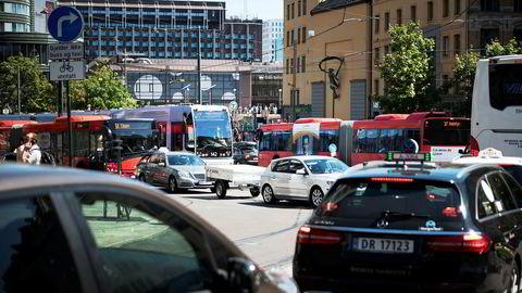 Over en tredel av Oslos husholdninger eier ikke bil.