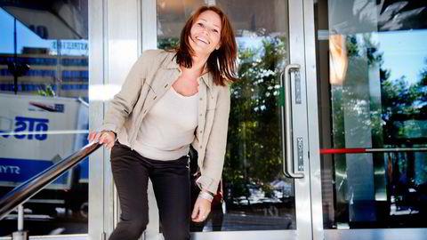 Forbundet Handel og Kontor, der Trine Lise Sundnes er leder, krever en ordning som gjør at kvinner får pensjon som ikke er vesentlig lavere enn menn.                   Foto: Silje Eide