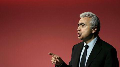 Fatih Birol, sjefen for Det internasjonale energibyrået advarer mot nye angrep på oljeinstallasjoner.