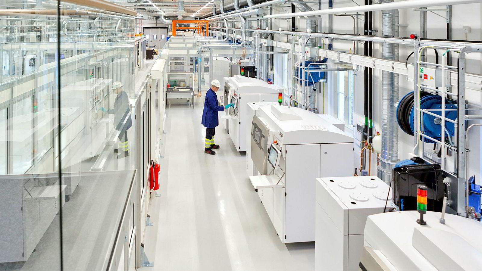 Denne maskinen snur tradisjonell produksjon på hodet