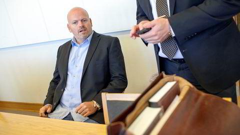 Komiker Tommy Steine kjøpte tre luksusbiler hos konkursrammede Auto-Forum. Foto: Brian Cliff Olguin
