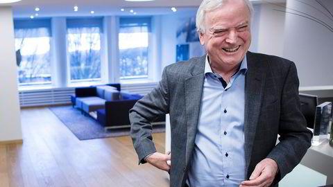 Reder Per Sævik har sikret seg kontrollen over transportselskapet Fjord1, men lurer som alltid på om han har betalt vel mye. Foto: Gunnar Blöndal