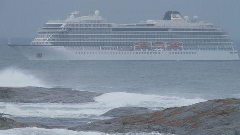 Cruiseskipet «Viking Sky» havnet i kraftige problemer over Hustadvika på vei mot Molde 23. mars.