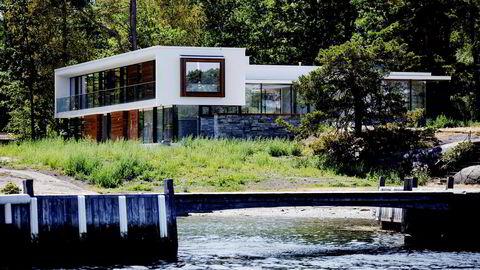 Frederik Selvaags hytte på Tjøme har fått et skudd for baugen.