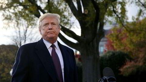 Donald Trump kritiseres av partifeller for holdningen overfor Saudi-Arabia.