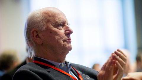Thorvald Stoltenberg mener vi burde ta oss råd til en fritttalende Geir Lundestad.                   Foto: Vegard Wivestad Grøtt /