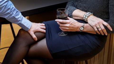 Mange kvinner utsettes for trakassering på jobb.