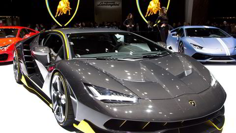 Karbon er gjengangermaterialet i Lamborghini Centenario. Begge foto: Embret Sæter