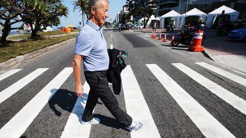Norges IOC-medlem Gerhard Heiberg føler sjokk og sinne etter at IOC-kollega Patrick Hickey er arrestert i Rio. Foto: Erik Johansen/