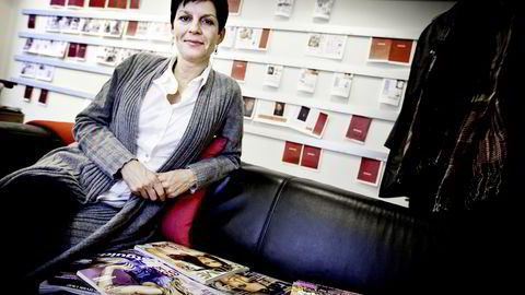 Forlagsdirektør i Bonnier, Gry Bjørhovde, sier de vil ettergå  Costume-bloggernes bruk av rettighetsbelagte bilder. Foto: Ida von Hanno Bast