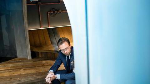 Digitaliseringsminister Nikolai Astrup (H) sier den nye sikkerhetsloven åpner for en mer riktig regulering av sikkerheten i Norges ekomnett.